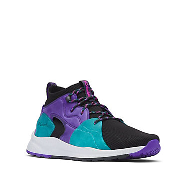 Men's SH/FT™ OutDry™ Mid Shoe SH/FT™ OUTDRY™ MID | 010 | 11.5, Purple, Teal, 3/4 front