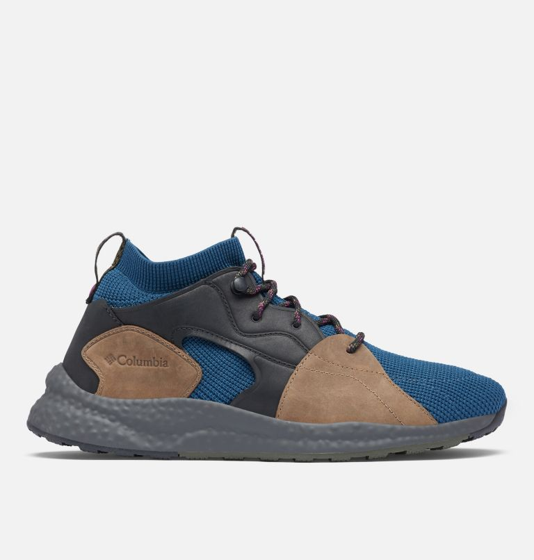 SH/FT™ OUTDRY™ MID | 403 | 12 Men's SH/FT™ OutDry™ Mid Shoe, Petrol Blue, Wild Iris, front