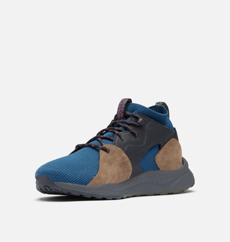 SH/FT™ OUTDRY™ MID | 403 | 12 Men's SH/FT™ OutDry™ Mid Shoe, Petrol Blue, Wild Iris