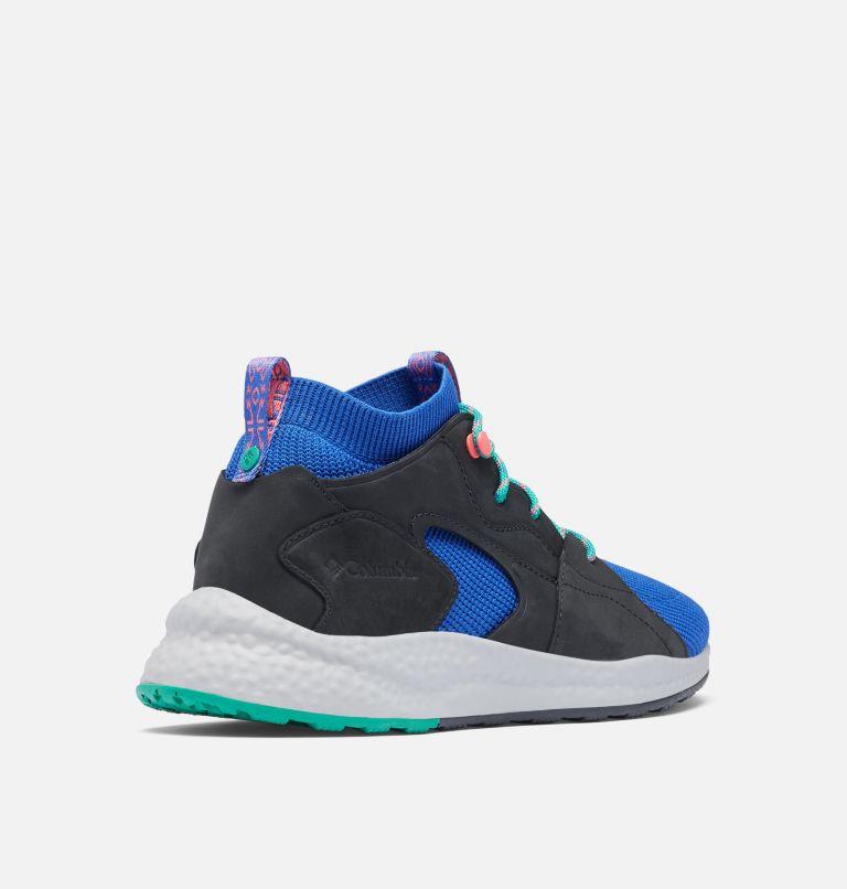 SH/FT™ OUTDRY™ MID | 410 | 7.5 Men's SH/FT™ OutDry™ Mid Shoe, Lapis Blue, Emerald Green, 3/4 back