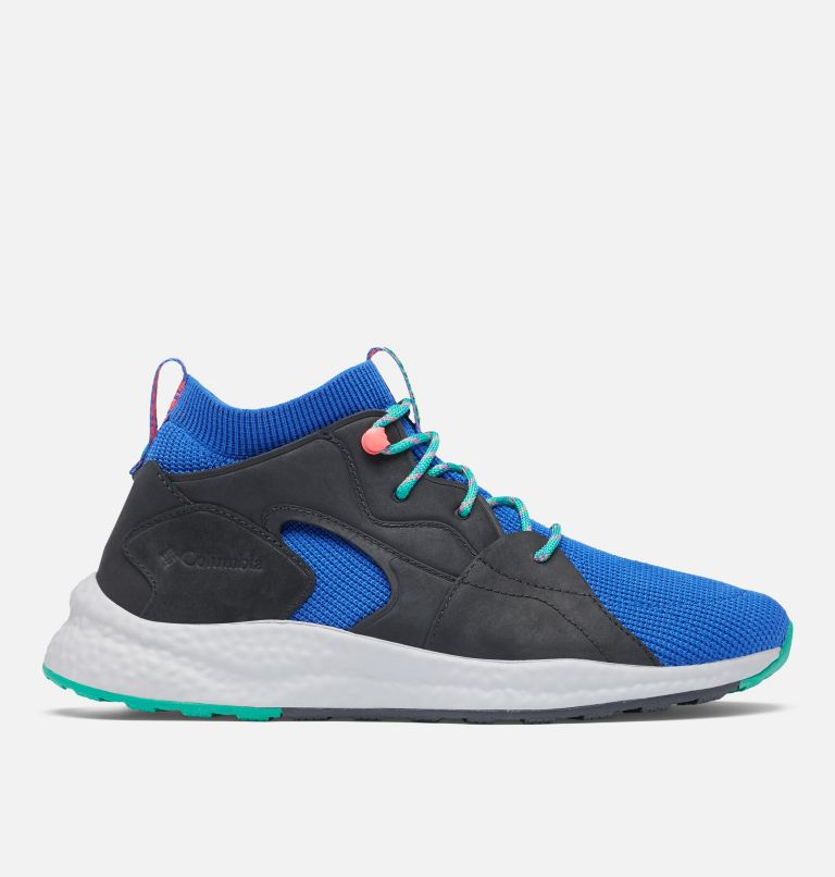 SH/FT™ OUTDRY™ MID | 410 | 7.5 Men's SH/FT™ OutDry™ Mid Shoe, Lapis Blue, Emerald Green, front