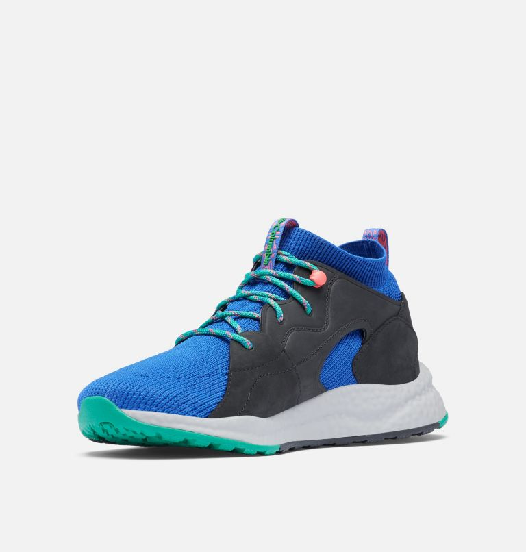 SH/FT™ OUTDRY™ MID | 410 | 10.5 Men's SH/FT™ OutDry™ Mid Shoe, Lapis Blue, Emerald Green