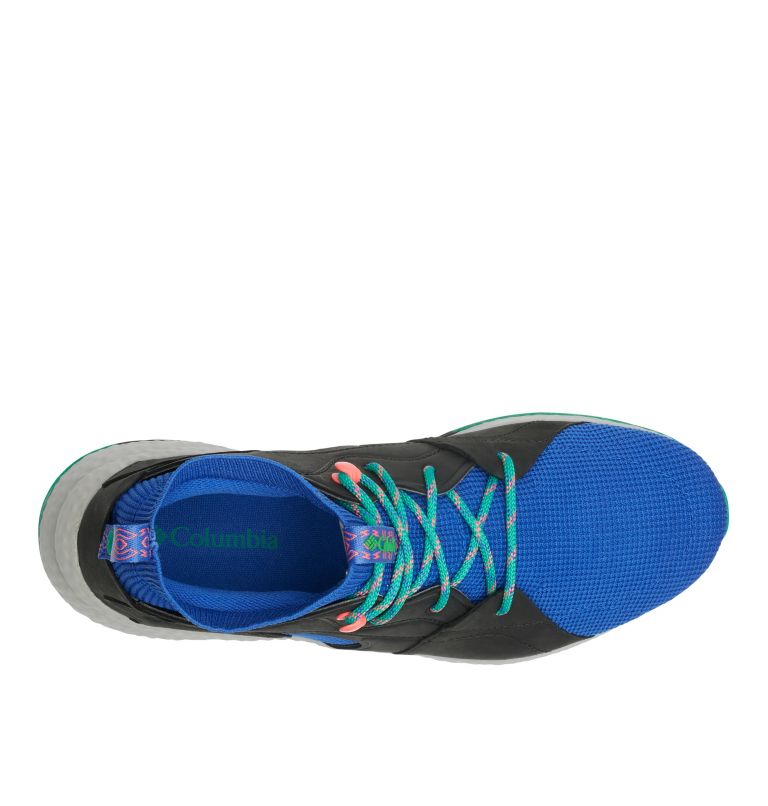SH/FT™ OUTDRY™ MID | 410 | 10.5 Men's SH/FT™ OutDry™ Mid Shoe, Lapis Blue, Emerald Green, top