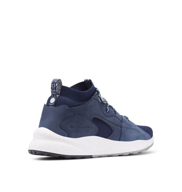 SH/FT™ OUTDRY™ MID | 464 | 14 Sneaker Mid SH/FT™ OutDry™ Homme, Collegiate Navy, White, 3/4 back