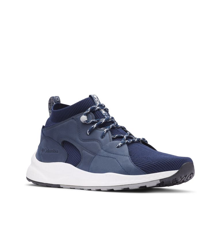 SH/FT™ OUTDRY™ MID | 464 | 14 Sneaker Mid SH/FT™ OutDry™ Homme, Collegiate Navy, White, 3/4 front
