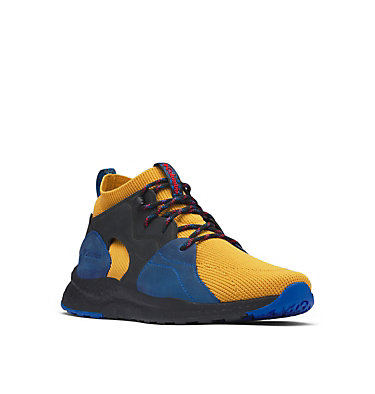 Men's SH/FT OutDry™ Mid Shoe SH/FT™ OUTDRY™ MID | 049 | 13, Golden Yellow, Blue, 3/4 front