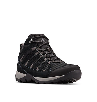 Men's Redmond™ V2 Mid Waterproof Hiking Boot REDMOND™ V2 MID WP | 010 | 16, Black, Dark Grey, 3/4 front
