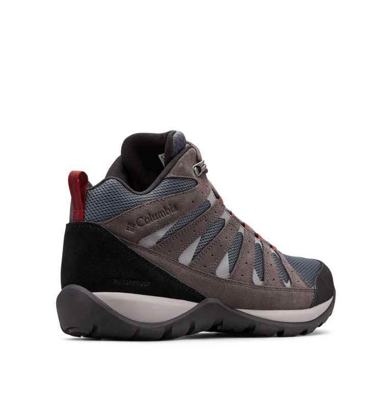 Men's Redmond™ V2 Mid Waterproof Hiking Boot - Wide Men's Redmond™ V2 Mid Waterproof Hiking Boot - Wide, 3/4 back