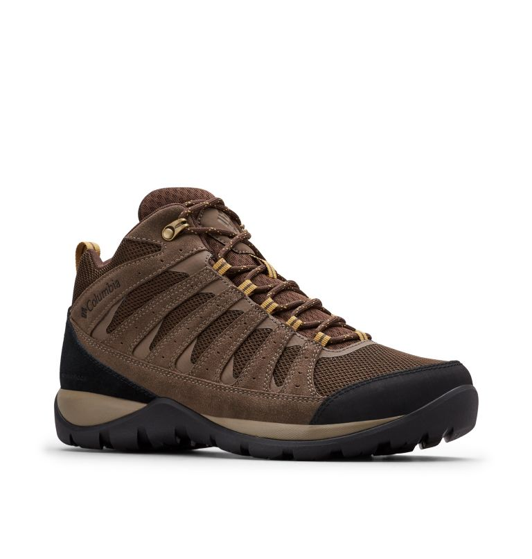 Men's Redmond™ V2 Mid Waterproof Hiking Boot - Wide Men's Redmond™ V2 Mid Waterproof Hiking Boot - Wide, 3/4 front
