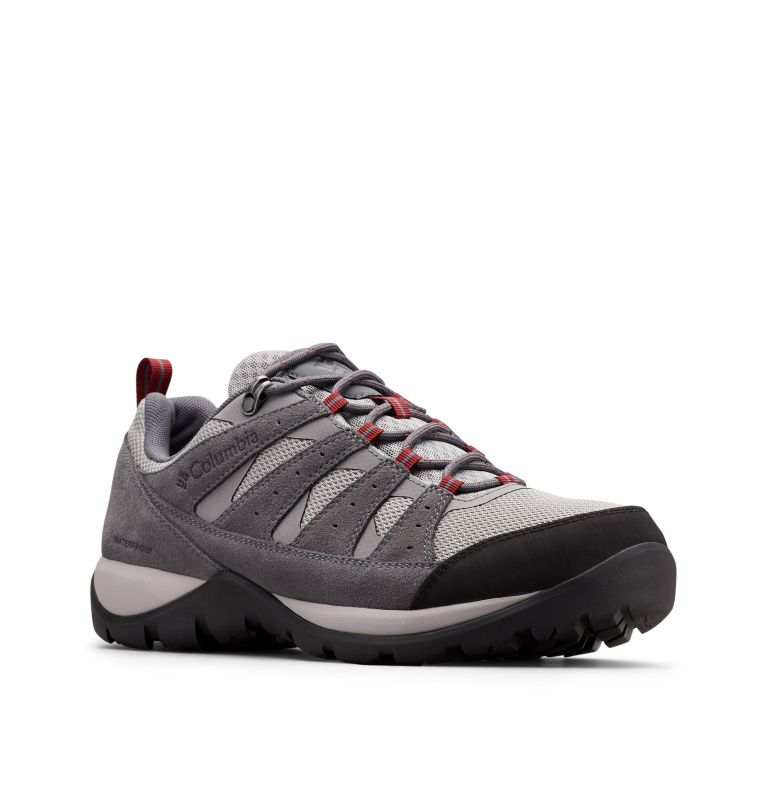 REDMOND™ V2 WP | 036 | 7.5 Men's Redmond™ V2 Waterproof Hiking Shoe, Monument, Red Jasper, 3/4 front