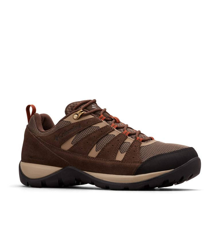 REDMOND™ V2 WP | 255 | 7.5 Men's Redmond™ V2 Waterproof Hiking Shoe, Mud, Dark Adobe, 3/4 front