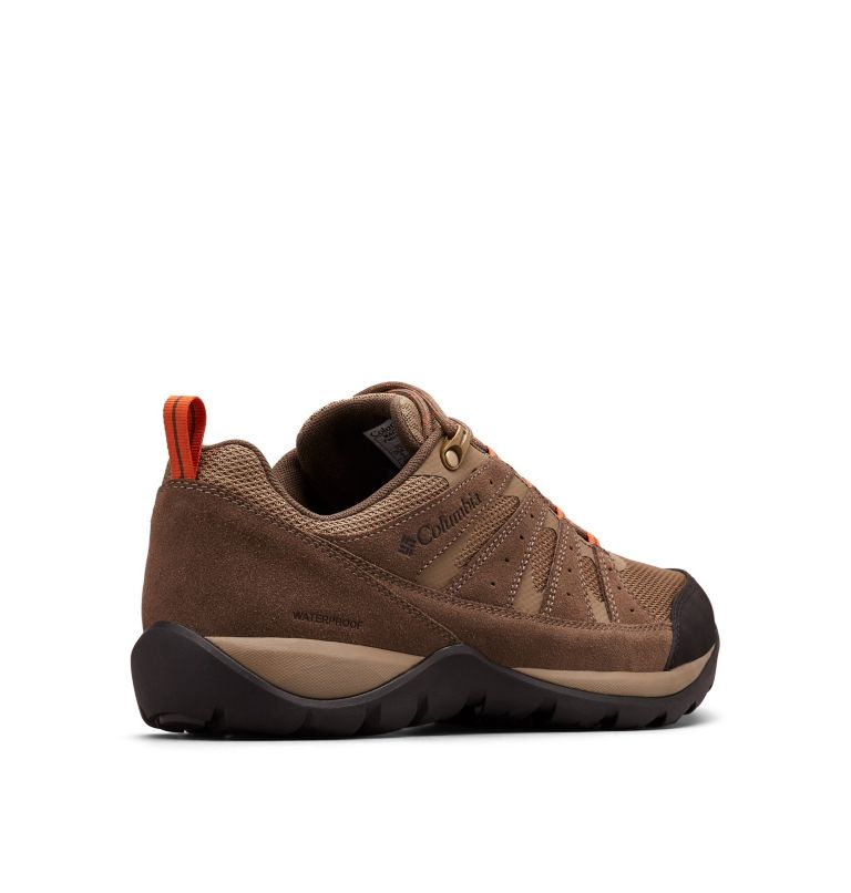 REDMOND™ V2 WP WIDE | 227 | 9.5 Men's Redmond™ V2 Waterproof Hiking Shoe - Wide, Pebble, Desert Sun, 3/4 back