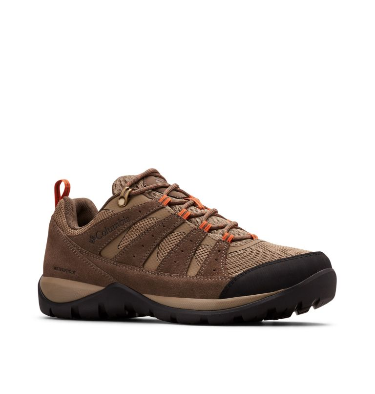 REDMOND™ V2 WP WIDE | 227 | 9.5 Men's Redmond™ V2 Waterproof Hiking Shoe - Wide, Pebble, Desert Sun, 3/4 front