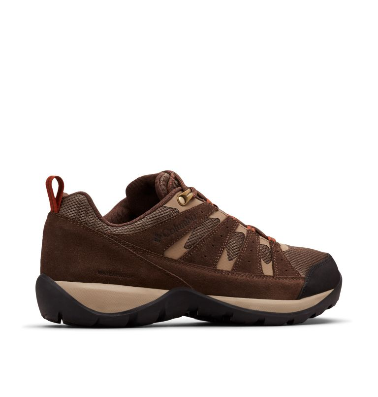 REDMOND™ V2 WP WIDE | 255 | 8 Men's Redmond™ V2 Waterproof Hiking Shoe - Wide, Mud, Dark Adobe, 3/4 back