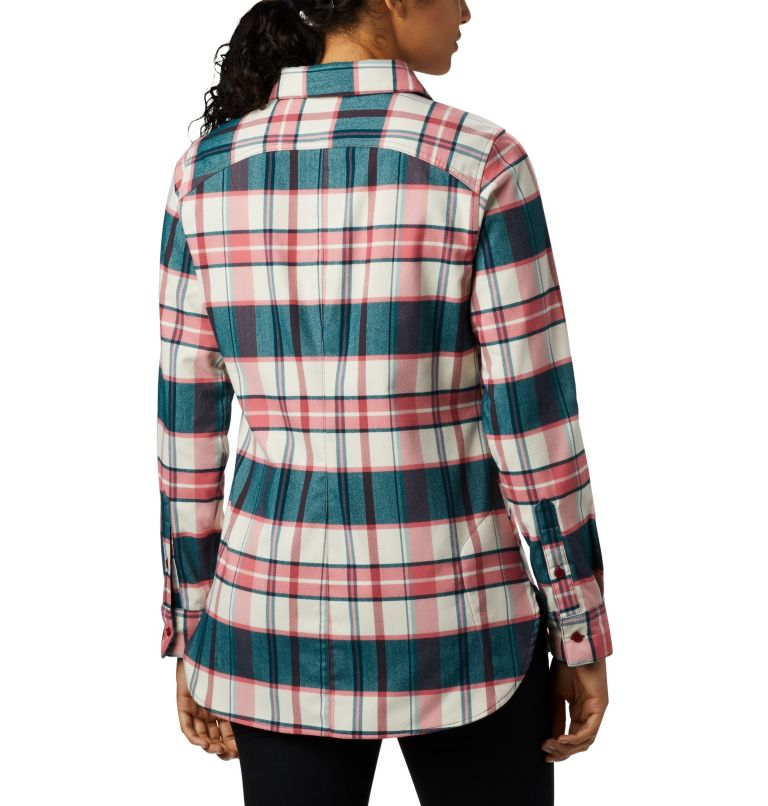 Women's Silver Ridge™ 2.0 Flannel Tunic Women's Silver Ridge™ 2.0 Flannel Tunic, back