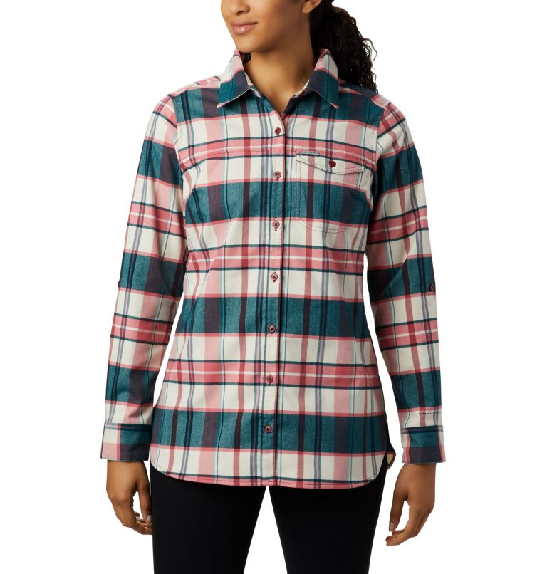 Women's Silver Ridge™ 2.0 Flannel Tunic Women's Silver Ridge™ 2.0 Flannel Tunic, front