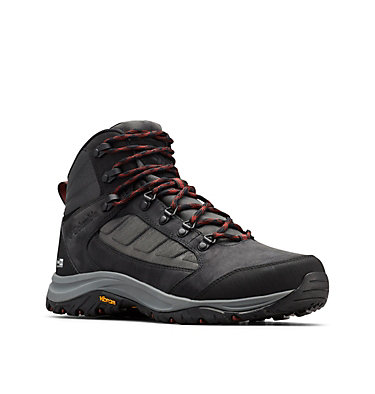 Men's 100MW™ Mid OutDry™ Hiking Shoe 100MW™ MID OUTDRY™ | 256 | 11.5, Shark, Deep Rust, 3/4 front