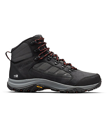 Men's 100MW™ Mid OutDry™ Hiking Shoe 100MW™ MID OUTDRY™ | 256 | 11.5, Shark, Deep Rust, front