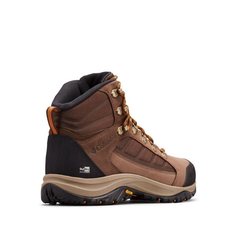 100MW™ MID OUTDRY™ | 256 | 10.5 Chaussures De Randonnée Mi-Montantes 100MW™ OutDry™ Homme, Tobacco, Canyon Gold, 3/4 back