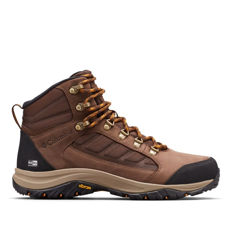 100MW™ MID OUTDRY™ | 256 | 10.5 Chaussures De Randonnée Mi-Montantes 100MW™ OutDry™ Homme, Tobacco, Canyon Gold, front