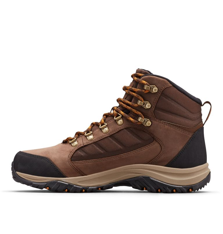 100MW™ MID OUTDRY™ | 256 | 9 Chaussures De Randonnée Mi-Montantes 100MW™ OutDry™ Homme, Tobacco, Canyon Gold, medial