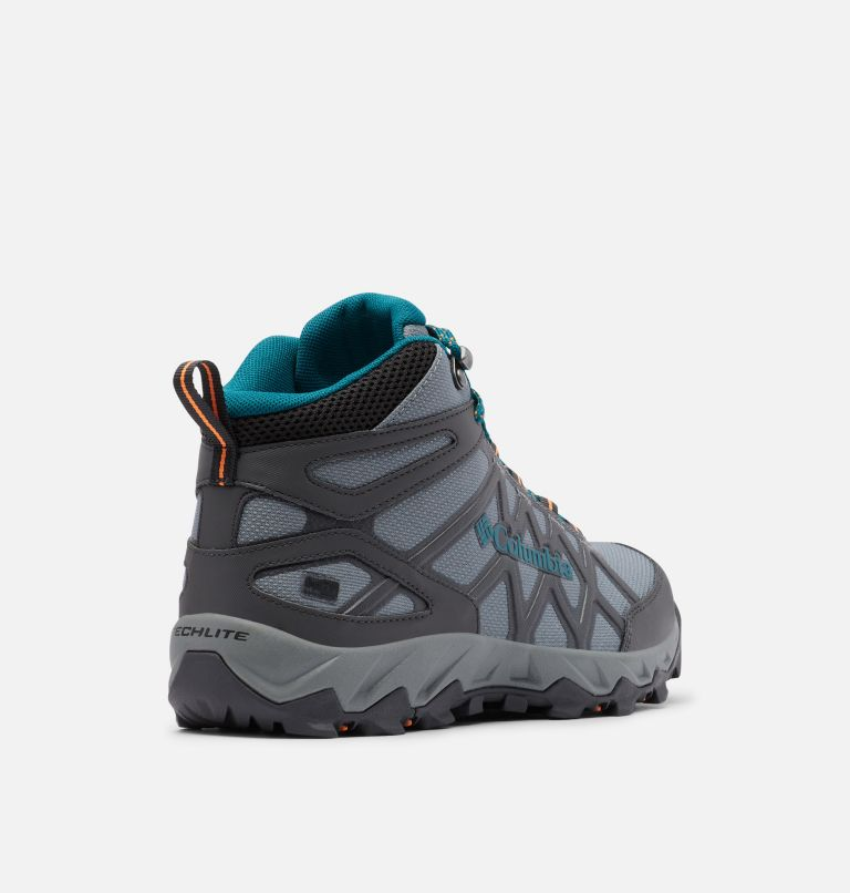 PEAKFREAK™ X2 MID OUTDRY™ | 033 | 10.5 Women's Peakfreak™ X2 Mid OutDry™ Boot, Ti Grey Steel, Deep Wave, 3/4 back