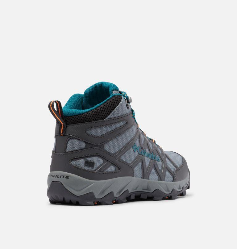 PEAKFREAK™ X2 MID OUTDRY™ | 033 | 6.5 Women's Peakfreak™ X2 Mid OutDry™ Boot, Ti Grey Steel, Deep Wave, 3/4 back
