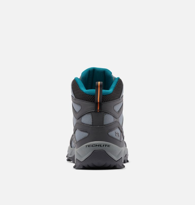 PEAKFREAK™ X2 MID OUTDRY™ | 033 | 10.5 Women's Peakfreak™ X2 Mid OutDry™ Boot, Ti Grey Steel, Deep Wave, back