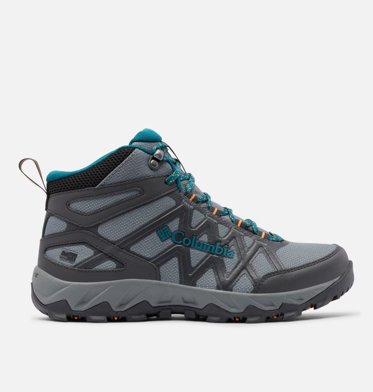 PEAKFREAK™ X2 MID OUTDRY™ | 033 | 10.5 Women's Peakfreak™ X2 Mid OutDry™ Boot, Ti Grey Steel, Deep Wave, front