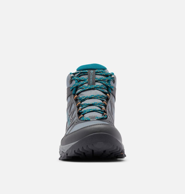 PEAKFREAK™ X2 MID OUTDRY™ | 033 | 10.5 Women's Peakfreak™ X2 Mid OutDry™ Boot, Ti Grey Steel, Deep Wave, toe