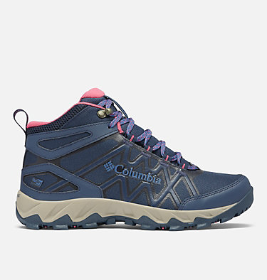 Women's Peakfreak™ X2 Mid OutDry™ Hiking Boot PEAKFREAK™ X2 MID OUTDRY™ | 010 | 5, Collegiate Navy, Dark Fuchsia, front