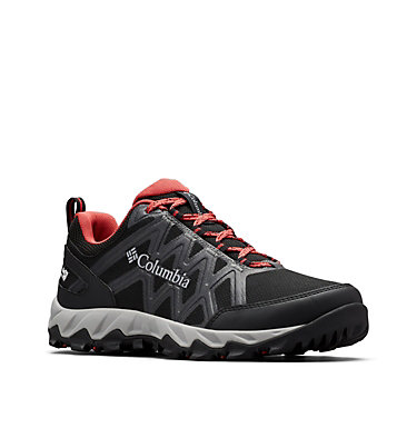 Women's Peakfreak™ X2 OutDry™ Hiking Shoe PEAKFREAK™ X2 OUTDRY™ | 608 | 10, Black, Daredevil, 3/4 front