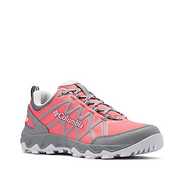 Women's Peakfreak™ X2 OutDry™ Hiking Shoe PEAKFREAK™ X2 OUTDRY™ | 608 | 10, Juicy, Pure Silver, 3/4 front