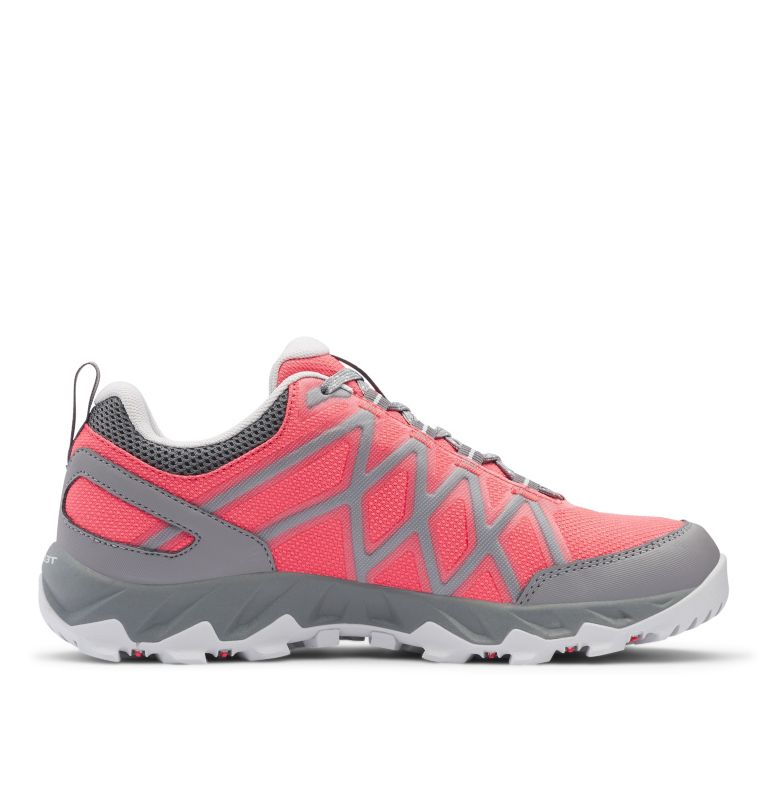 PEAKFREAK™ X2 OUTDRY™ | 608 | 10.5 Women's Peakfreak™ X2 OutDry™ Shoe, Juicy, Pure Silver, medial