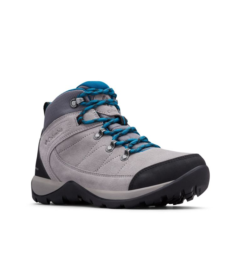 FIRE VENTURE™ S II MID WP | 029 | 5.5 Botín impermeable Fire Venture S II para mujer, Ti Titanium, Lagoon, 3/4 front
