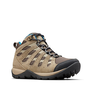Women's Redmond™ V2 Mid Waterproof Hiking Boot REDMOND™ V2 MID WP | 255 | 10, Mud, Lagoon, 3/4 front