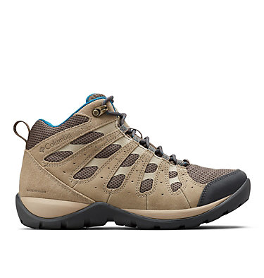 Women's Redmond™ V2 Mid Waterproof Hiking Boot REDMOND™ V2 MID WP | 255 | 10, Mud, Lagoon, front