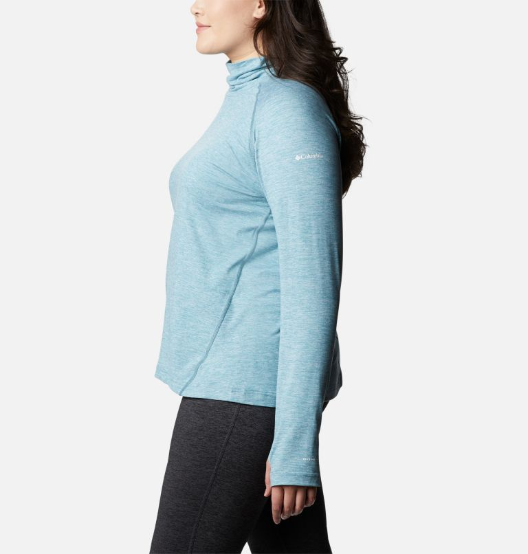 Bryce Canyon™ II Turtleneck | 430 | 2X Women's Bryce Canyon™ II Turtleneck - Plus Size, Canyon Blue Heather, a1