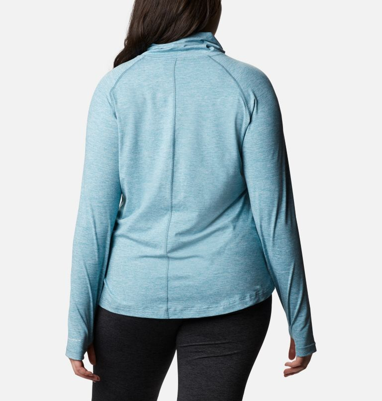 Bryce Canyon™ II Turtleneck | 430 | 2X Women's Bryce Canyon™ II Turtleneck - Plus Size, Canyon Blue Heather, back