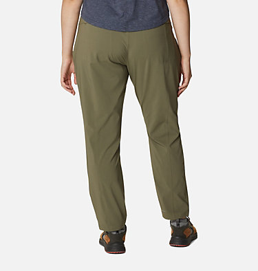 Women's Bryce Canyon™ II Pants - Plus Size Bryce Canyon™ II Pant | 619 | 1X, Stone Green, back