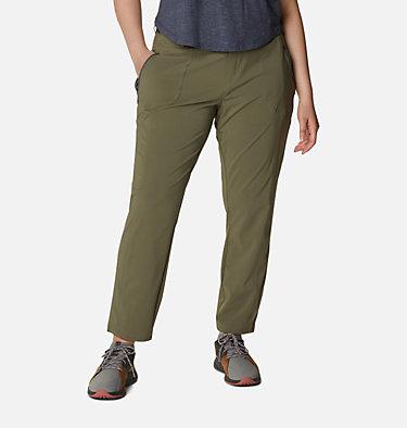 Women's Bryce Canyon™ II Pants - Plus Size Bryce Canyon™ II Pant | 619 | 1X, Stone Green, front