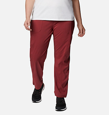 Women's Bryce Canyon™ II Pants - Plus Size Bryce Canyon™ II Pant | 619 | 3X, Marsala Red, front