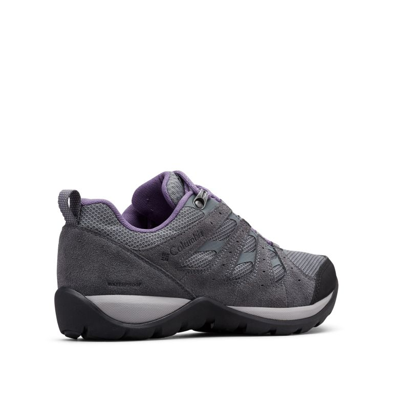 REDMOND™ V2 WP | 033 | 6.5 Women's Redmond™ V2 Waterproof Hiking Shoe, Ti Grey Steel, Plum Purple, 3/4 back