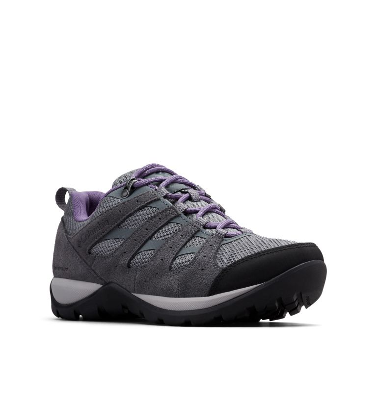 REDMOND™ V2 WP | 033 | 6.5 Women's Redmond™ V2 Waterproof Hiking Shoe, Ti Grey Steel, Plum Purple, 3/4 front