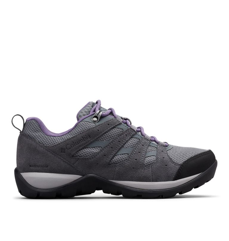REDMOND™ V2 WP | 033 | 6.5 Women's Redmond™ V2 Waterproof Hiking Shoe, Ti Grey Steel, Plum Purple, front