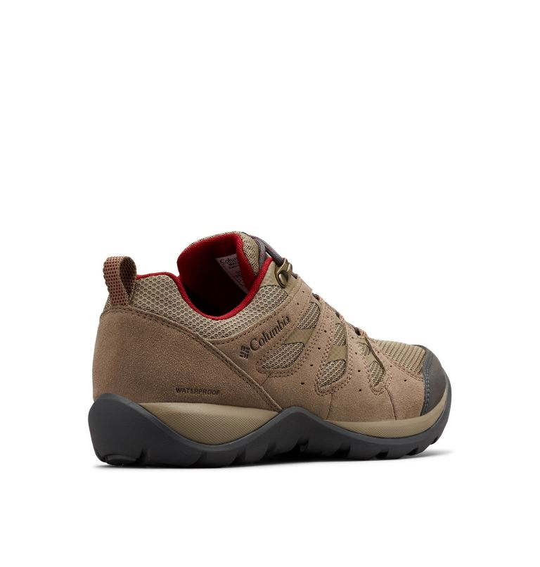 REDMOND™ V2 WP | 227 | 5.5 Women's Redmond™ V2 Waterproof Hiking Shoe, Pebble, Beet, 3/4 back