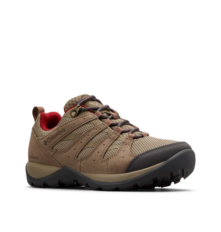 REDMOND™ V2 WP | 227 | 5.5 Women's Redmond™ V2 Waterproof Hiking Shoe, Pebble, Beet, 3/4 front