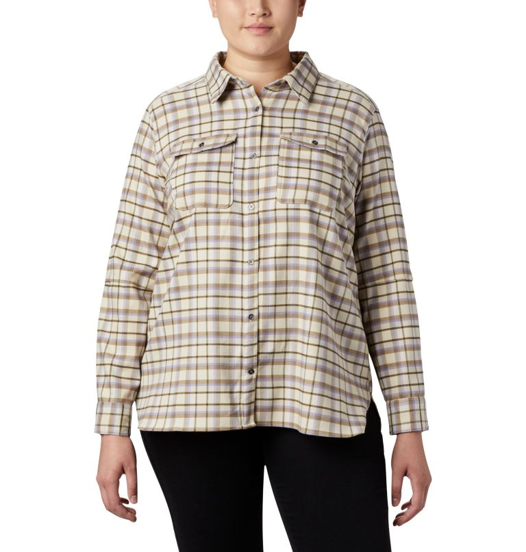 Women's Bryce Canyon™ Stretch Flannel - Plus Size Women's Bryce Canyon™ Stretch Flannel - Plus Size, front