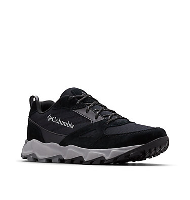 Men's IVO Trail Shoe IVO TRAIL™ | 241 | 11.5, Black, Steam, 3/4 front