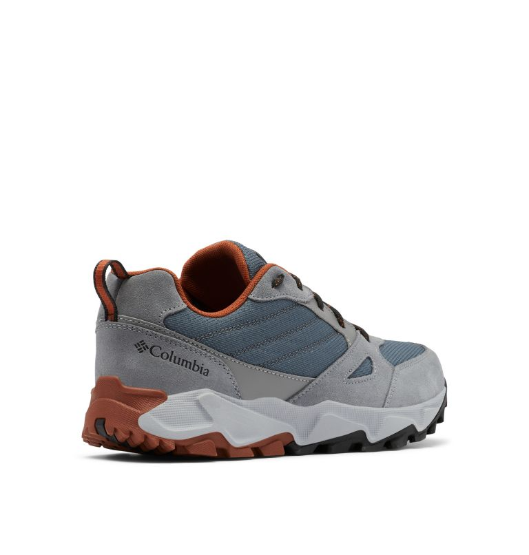 IVO TRAIL™ | 053 | 7 Men's IVO Trail™ Shoe, Graphite, Dark Adobe, 3/4 back